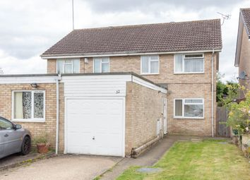 Thumbnail 3 bed semi-detached house for sale in The Banks, Wellingborough