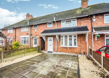Thumbnail 3 bed terraced house for sale in St. Johns Road, Walsall