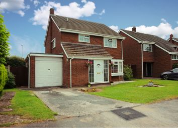 Thumbnail 3 bed detached house for sale in Poplars Avenue, Hanwood, Shrewsbury