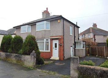 Thumbnail 2 bed semi-detached house for sale in Manor Grove, Heysham, Morecambe