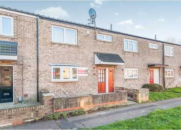 Thumbnail 3 bed terraced house for sale in Irchester Place, Ravensthorpe, Peterborough