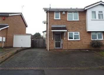 Thumbnail 2 bed semi-detached house to rent in Forryans Close, Wigston