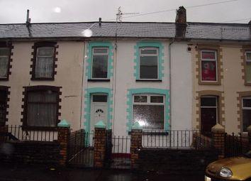 Thumbnail 3 bedroom maisonette for sale in Wyndham Street, Ogmore Vale, Bridgend, Mid Glamorgan