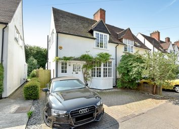 Thumbnail 3 bed semi-detached house for sale in Birchwood Road, West Byfleet