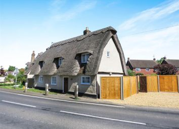 Thumbnail 3 bedroom detached house to rent in Potton Road, Hilton, Huntingdon