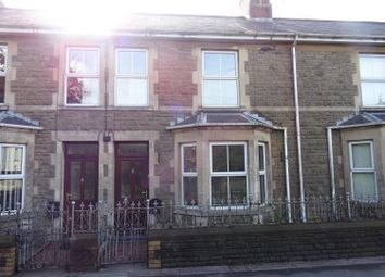 Thumbnail 3 bed terraced house to rent in Penybont Road, Pencoed, Bridgend