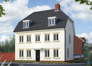 "Thumbnail 5 bedroom detached house for sale in ""The Warwick"" at Holden Close, Biddenham, Bedford"