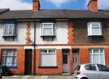 Thumbnail 3 bed terraced house to rent in Evington Parks Road, Leicester