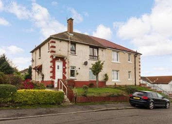 Thumbnail 2 bed flat for sale in Dinwiddie Street, Germiston, Glasgow
