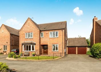 Thumbnail 4 bed detached house for sale in John Taylor Way, Moreton Morrell, Warwick, .