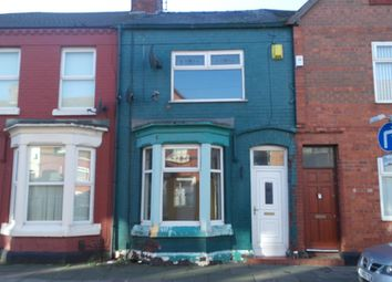 Thumbnail 3 bed terraced house to rent in Becket Street, Kirkdale, Liverpool