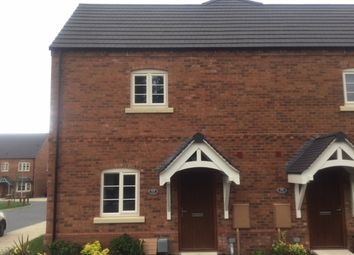 Thumbnail 1 bed town house to rent in Wistanes Green, Wessington, Alfreton