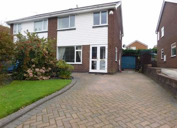 Thumbnail 3 bedroom semi-detached house for sale in Plane Tree Close, Marple, Stockport