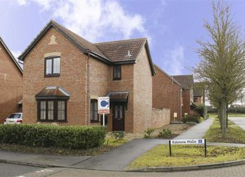 Thumbnail 3 bedroom detached house for sale in Edstone Place, Emerson Valley, Milton Keynes, Bucks