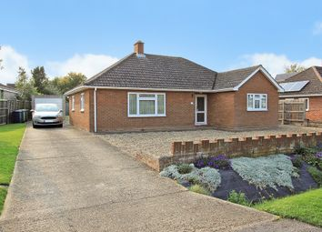 Thumbnail 3 bed detached bungalow for sale in The Lanes, Over, Cambridge
