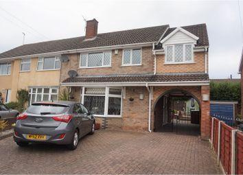 Thumbnail 4 bedroom semi-detached house for sale in Cardington Close, Newcastle