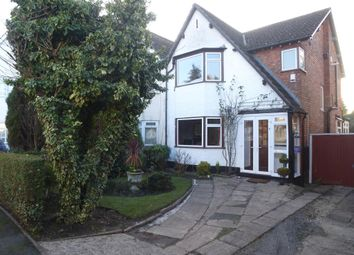 Thumbnail 3 bed semi-detached house for sale in Green Avenue, Hall Green, Birmingham