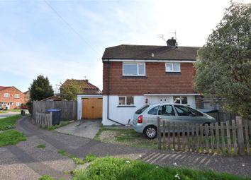 Thumbnail 3 bed semi-detached house for sale in Blacksmiths Crescent, Lancing, West Sussex