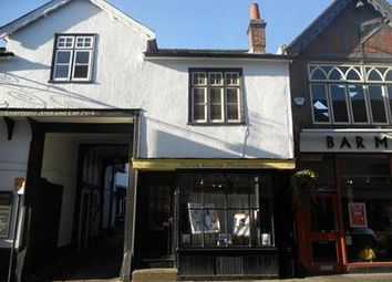 Thumbnail Commercial property for sale in Shop Adjacent To The George, 34 Bucklersbury, Hitchin, Hertfordshire