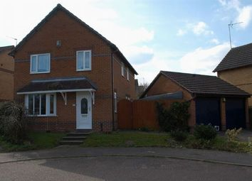 Thumbnail 4 bed detached house for sale in Corbieres Close, Duston, Northampton