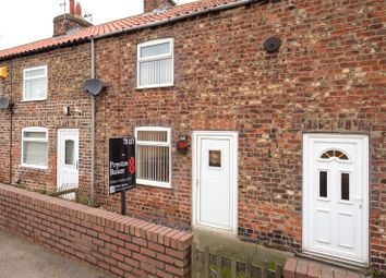Thumbnail 2 bedroom terraced house to rent in Victoria Terrace, North Duffield, Selby