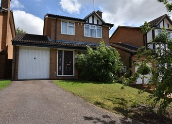 Thumbnail 3 bed detached house for sale in Cardinal Close, East Hunsbury, Northampton