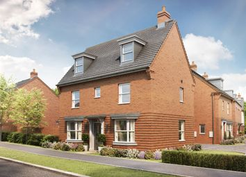 Thumbnail 4 bed detached house for sale in Kingsbrook, Broughton Crossing, Broughton, Aylesbury