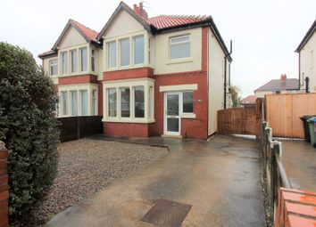 Thumbnail 3 bedroom semi-detached house to rent in Norfolk Avenue, Cleveleys