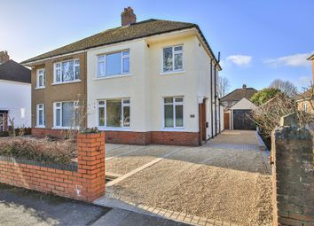 Thumbnail 3 bed semi-detached house for sale in King George V Drive West, Heath, Cardiff