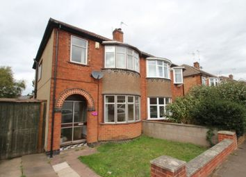 Thumbnail 3 bed semi-detached house to rent in Meadvale Road, Knighton, Leicester