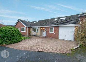 Thumbnail 4 bed detached bungalow for sale in Whitebirk Close, Greenmount, Bury