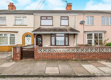 Thumbnail 3 bed terraced house for sale in Elm Avenue, Grimsby