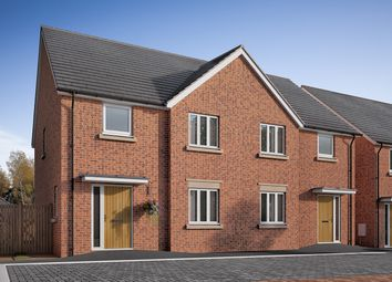 "Thumbnail 3 bed semi-detached house for sale in ""The Chilham V2"" at Fox Hill, Haywards Heath"