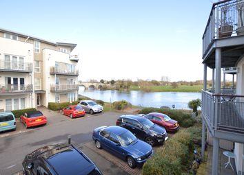 Thumbnail 2 bedroom flat to rent in Chertsey House, Bridge Wharf, Chertsey, Surrey