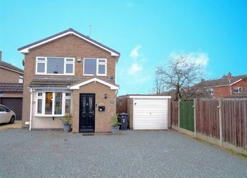 Thumbnail 3 bed detached house for sale in Brenfield Drive, Hinckley