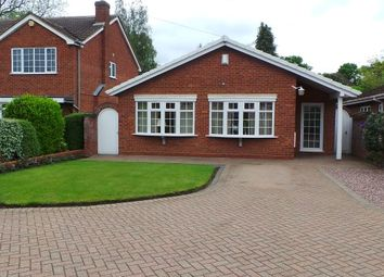 Thumbnail 3 bed detached bungalow for sale in Arden Drive, Wylde Green, Sutton Coldfield