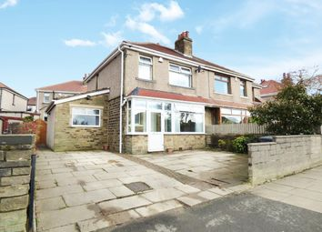 Thumbnail 3 bed semi-detached house for sale in Wrose Road, Shipley, Yorkshire, West Riding