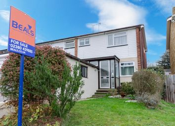 Thumbnail 3 bedroom end terrace house for sale in Broadwater Road, Southampton