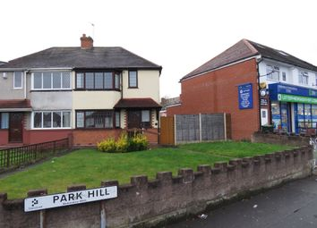 Thumbnail 2 bed semi-detached house for sale in Park Hill, Wednesbury