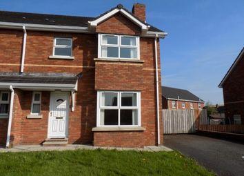 Thumbnail 3 bedroom semi-detached house for sale in Ballybay Meadows, Portadown, Craigavon