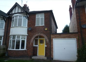 Thumbnail 3 bedroom semi-detached house to rent in Alvaston Road, Rowley Fields, Leicester