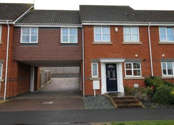 Thumbnail 3 bed semi-detached house to rent in Vicarage Road, Rushden, Northants