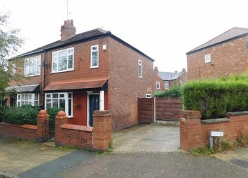 Thumbnail 2 bed semi-detached house for sale in Crescent Road, Vernon Park, Stockport