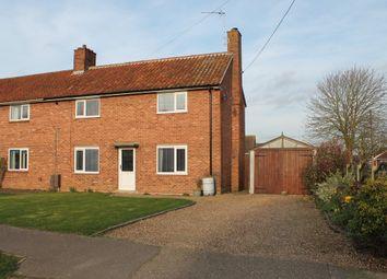 Thumbnail 3 bedroom semi-detached house for sale in School Lane, Redenhall, Harleston