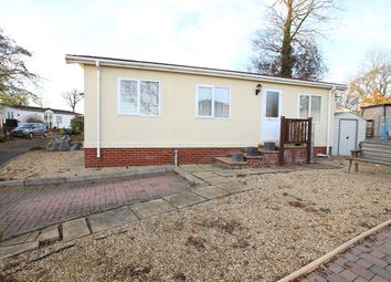 Thumbnail 1 bed mobile/park home for sale in Blueleighs Park, Great Blakenham, Ipswich, Suffolk