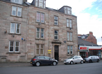 Thumbnail 2 bed flat to rent in South Street, Greenock Furnished