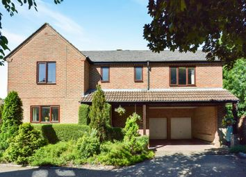 Thumbnail 4 bed detached house for sale in High Street, Great Linford, Milton Keynes