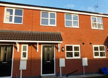 Thumbnail 2 bed town house to rent in Waverley Close, Kirkby-In-Ashfield, Nottingham