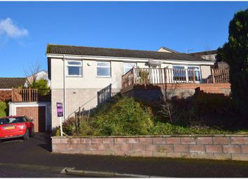 Thumbnail 4 bed detached bungalow for sale in Ladhope Drive, Galashiels