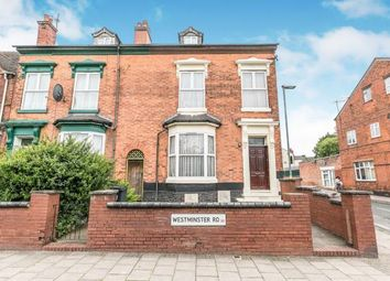 Thumbnail 6 bed end terrace house for sale in Westminster Road, Birmingham, West Midlands